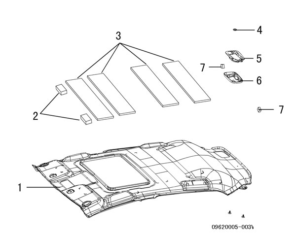 отделка крыши (внутренняя)
