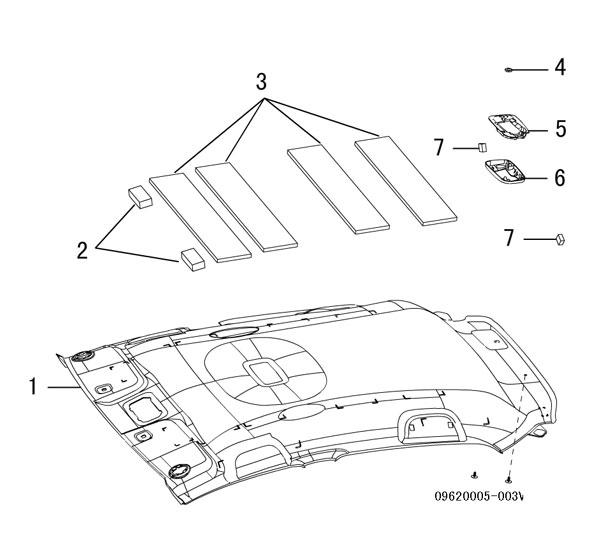 отделка крыши (внутренняя) 2