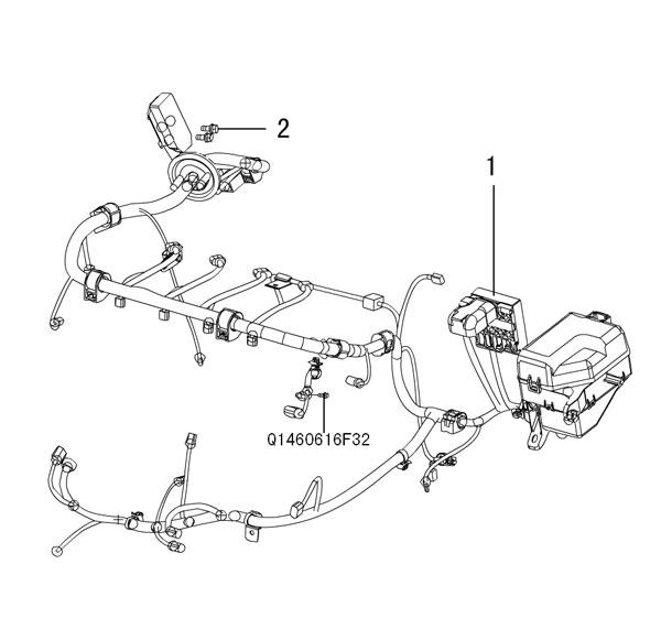 проводка - двигатель