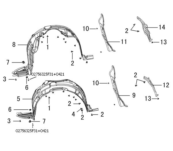 отделка колесной арки