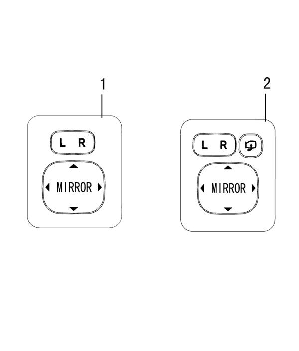 электро управление зеркалами