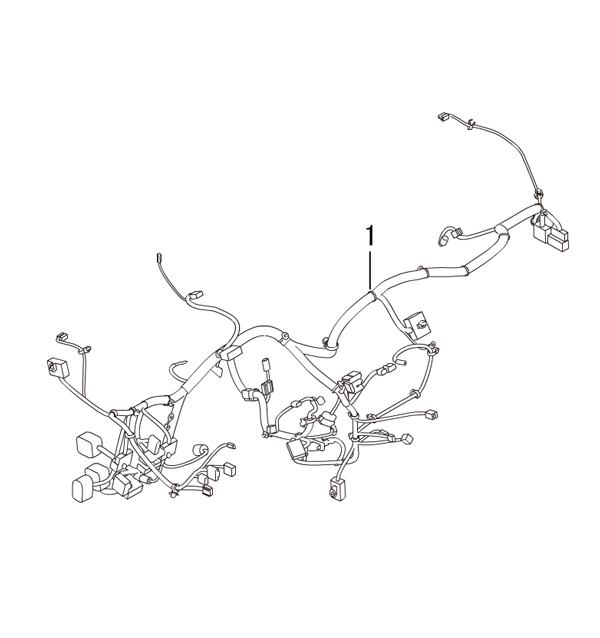 проводка - инструментальная панель