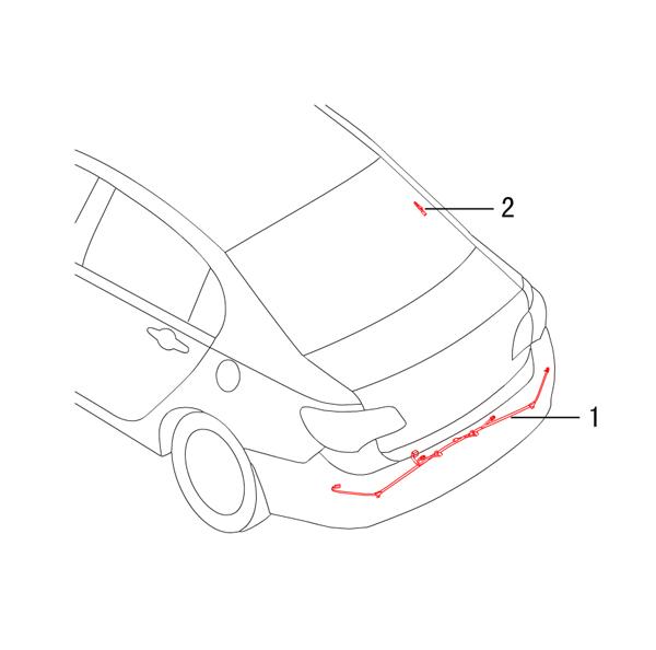 проводка - задняя часть