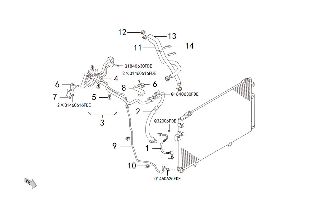 трубопровод кондиционера