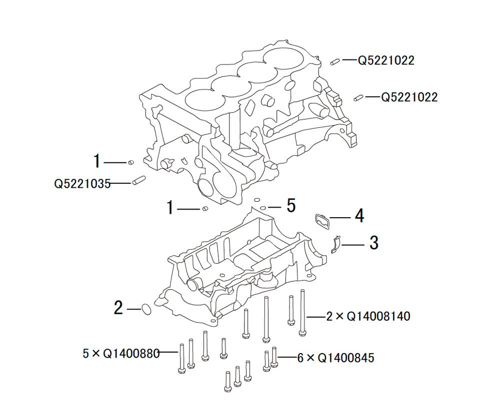 блок цилиндров 3
