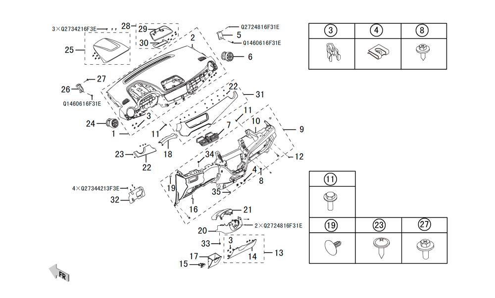 инструментальная панель