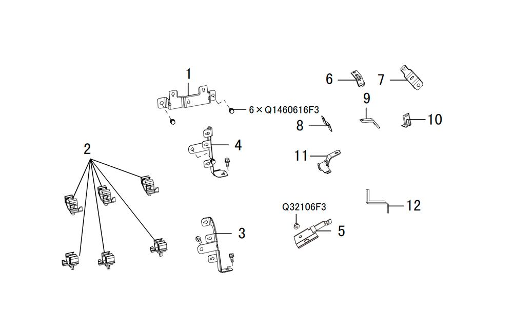фиксаторы проводки