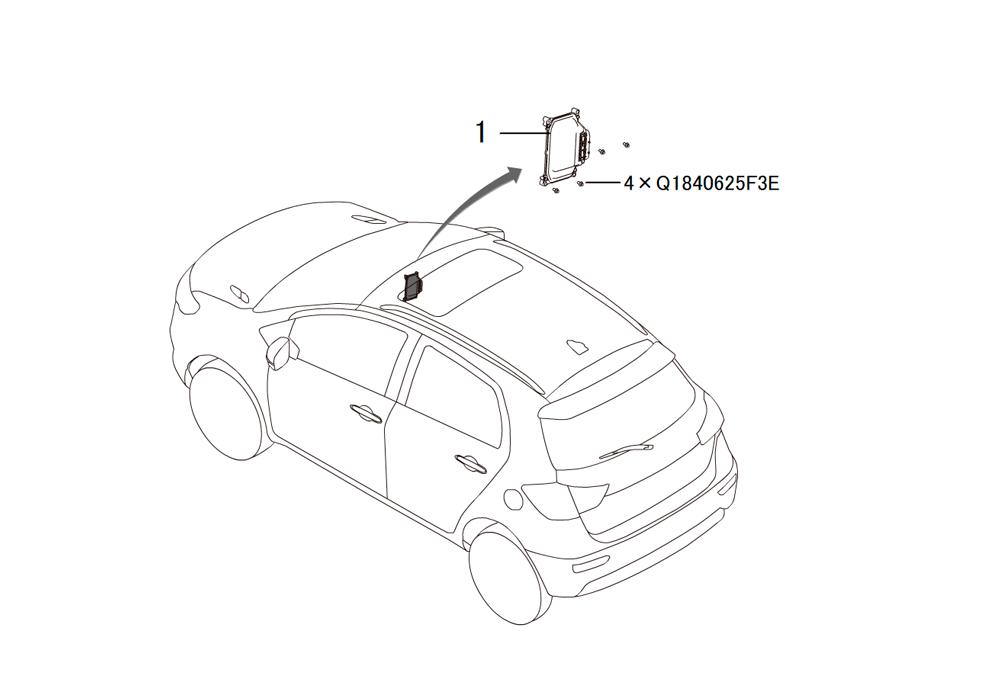 контролер двигателя ECU
