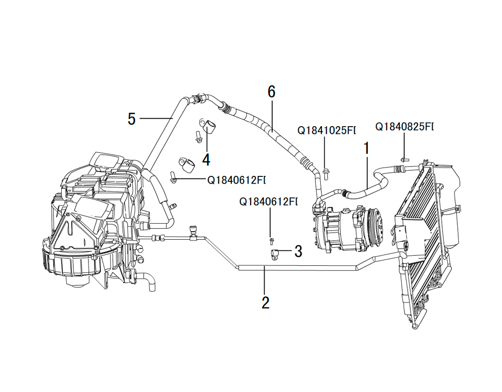 трубы системы охлаждения