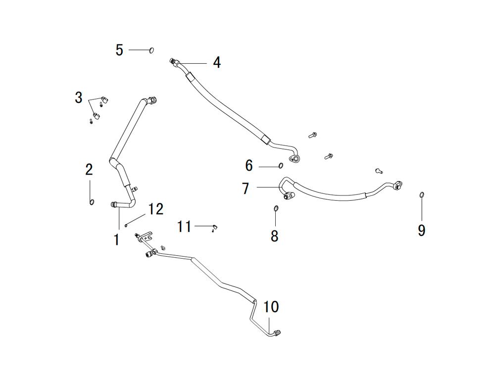 трубы системы охлаждения 2