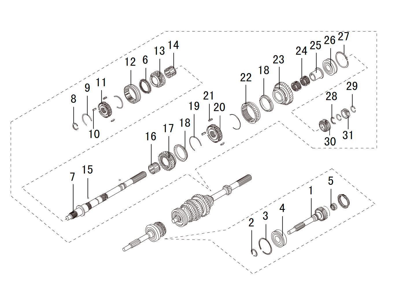 кпп 4х2 4G63 (4)
