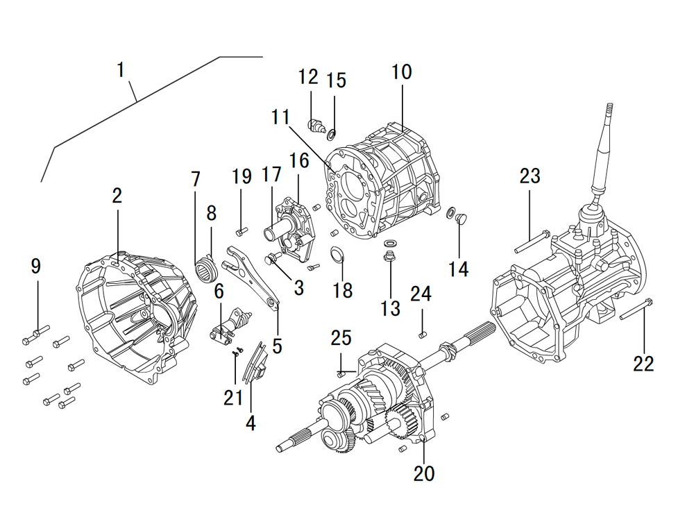 кпп 4х4 4G63 (1)