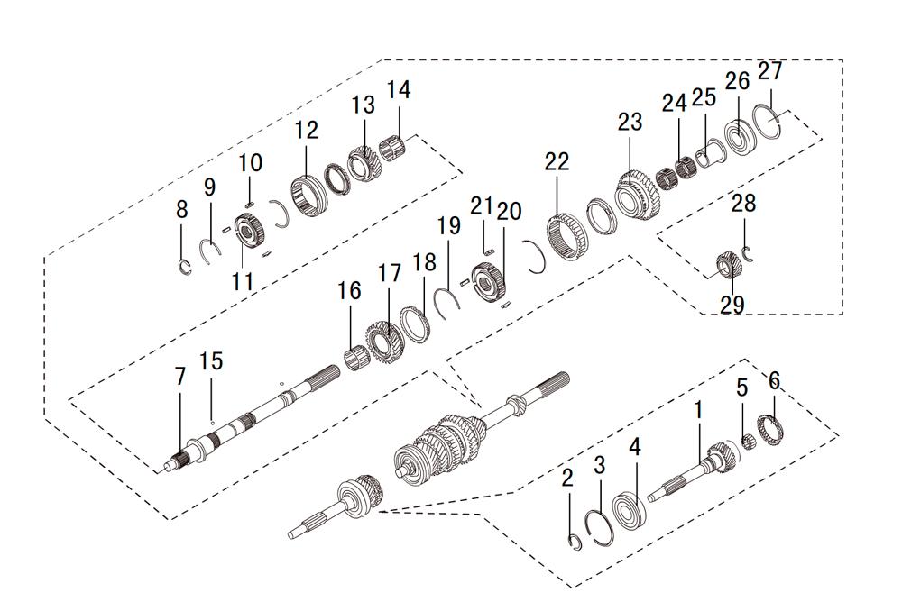 кпп 4х4 4G63 (4)