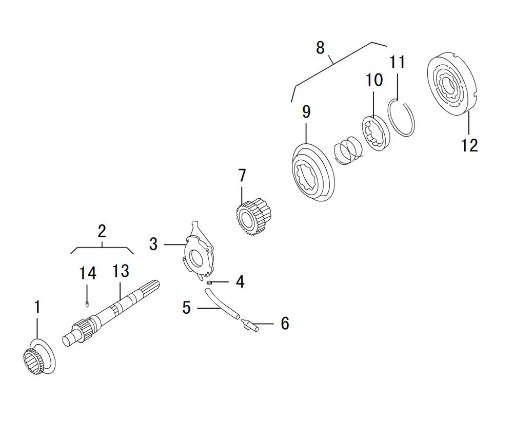 раздаточная коробка BW 47-60 (2)