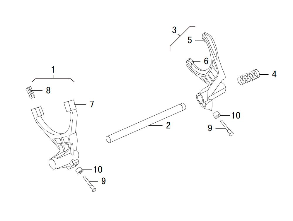 раздаточная коробка BW 47-60 (3)