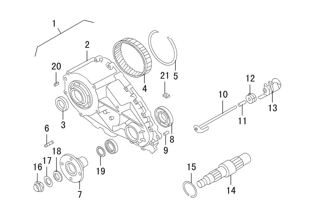 раздаточная коробка BW 47-60 (5)