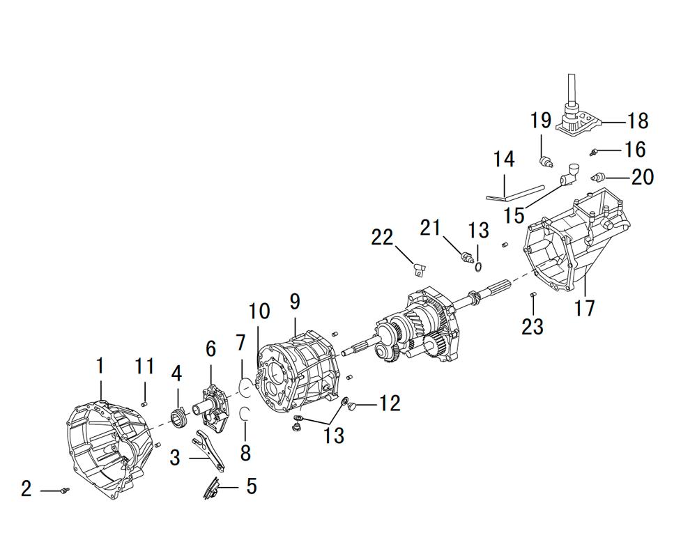 кпп 4х2 2.5TDI (1)