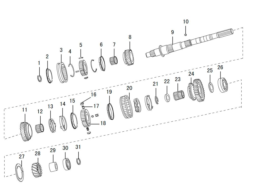 кпп 4х2 2.5TDI (3)