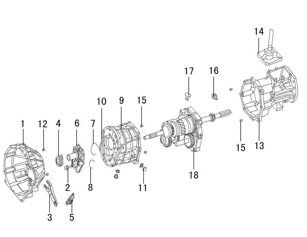 кпп 4х4 2.5TDI (1)