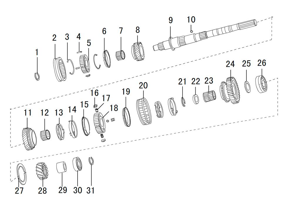 кпп 4х4 2.5TDI (2)