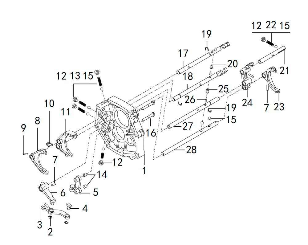 кпп 4х2 4G63 (2)