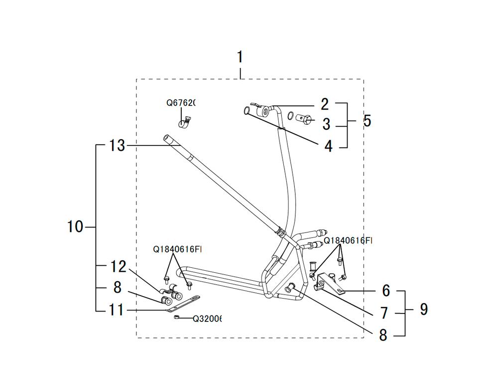 трубопровод гидроусилителя руля 2
