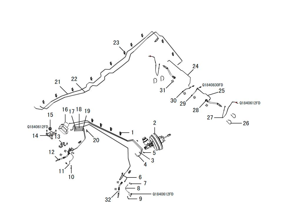 трубки и тормозные шланги 2