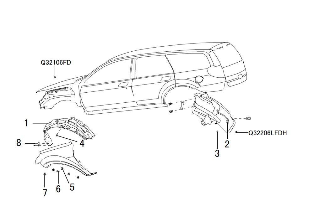арки колес