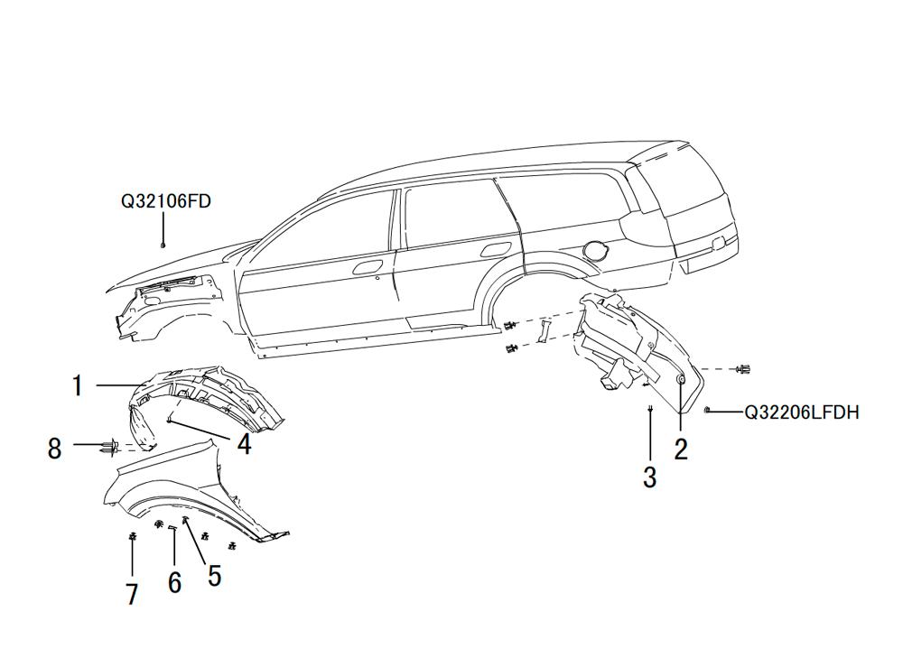 арки колес 2
