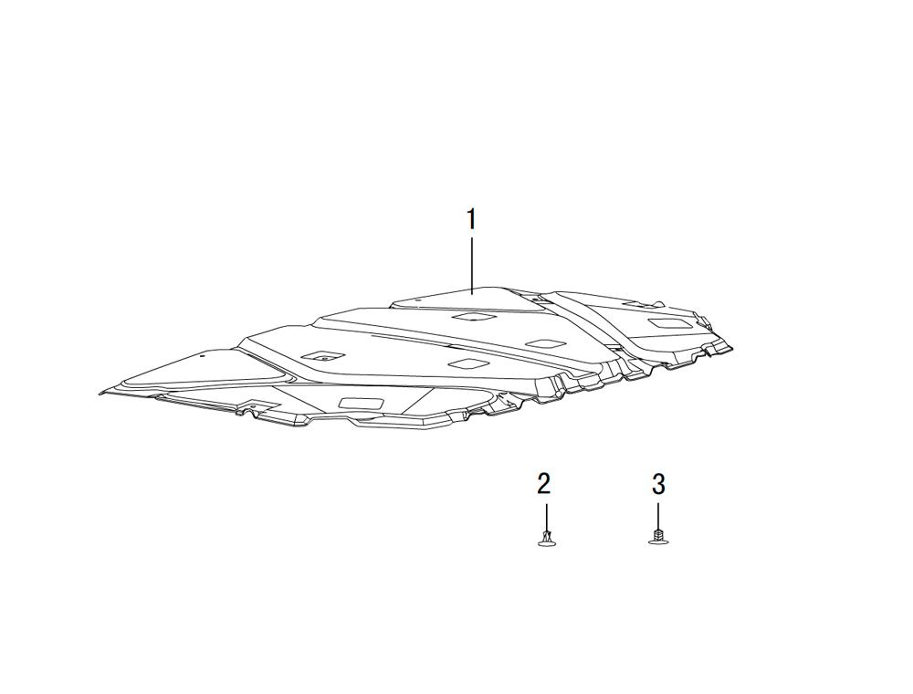 задняя панель моторного отсека (шумоизоляция)