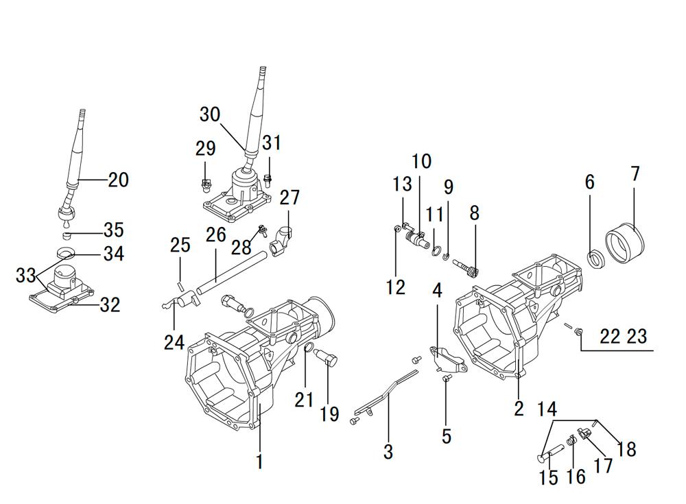 кпп 4х2 K80-17-12