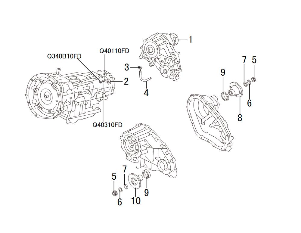 раздатка TRANSFER CASE(AUTO)