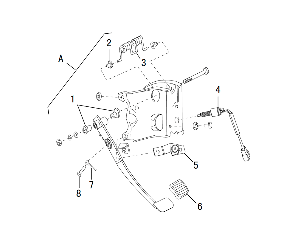 педаль сцепления 2