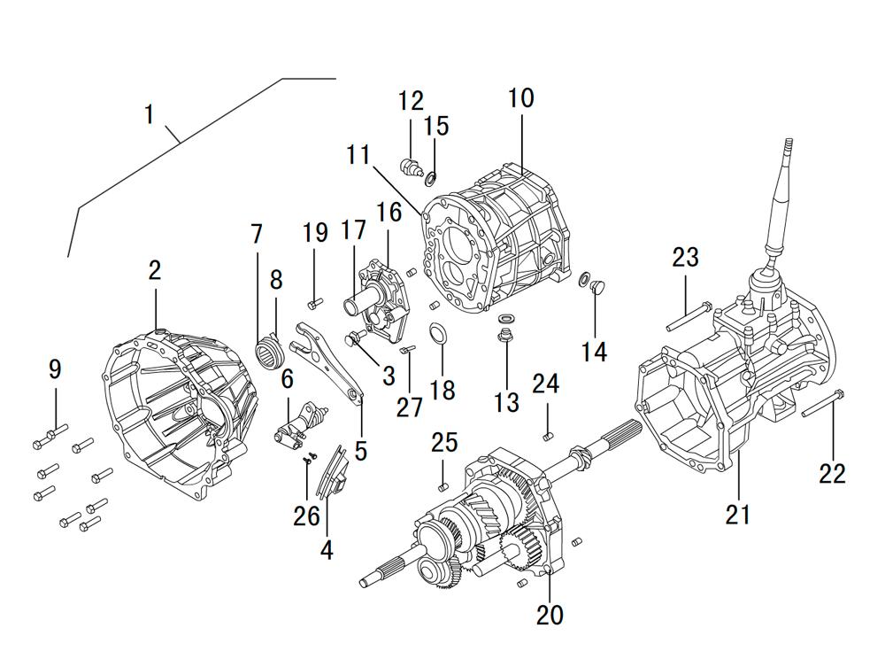 кпп 4х4 HF-BSQ-K81-ZM (1)