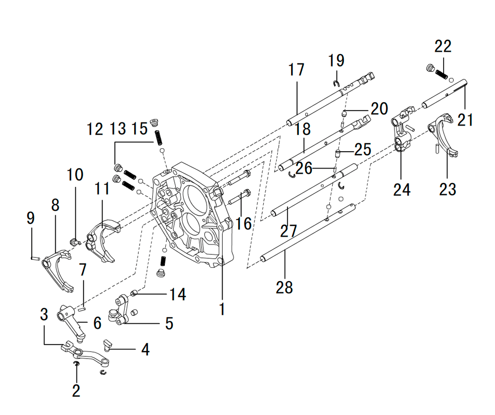 кпп 4х4 HF-BSQ-K81-ZM (2)