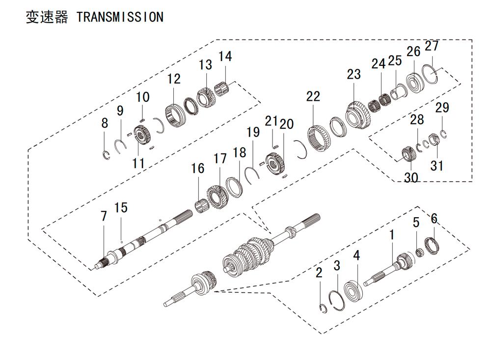 кпп 4х4 HF-BSQ-K81-ZM (4)