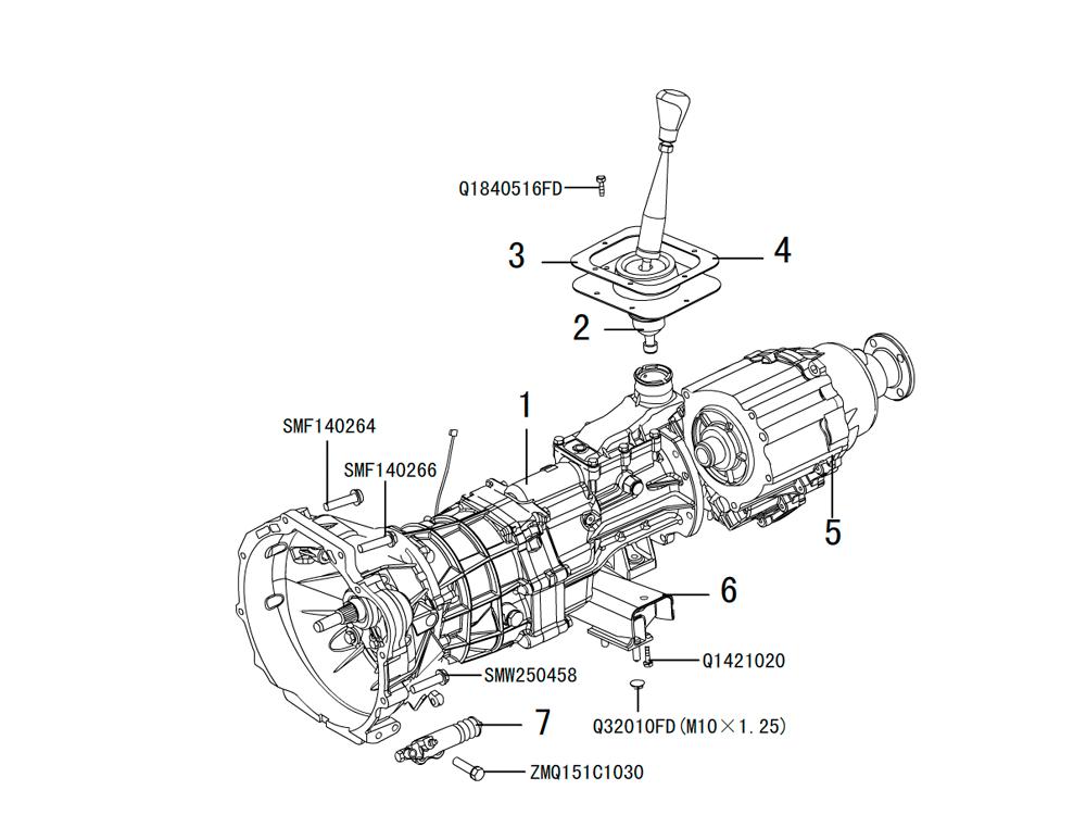 кпп 4х4 HF-BSQ-K81-ZM (6)