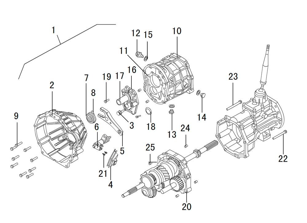 кпп 4х4 HF-BSQ-K81-TC (1)