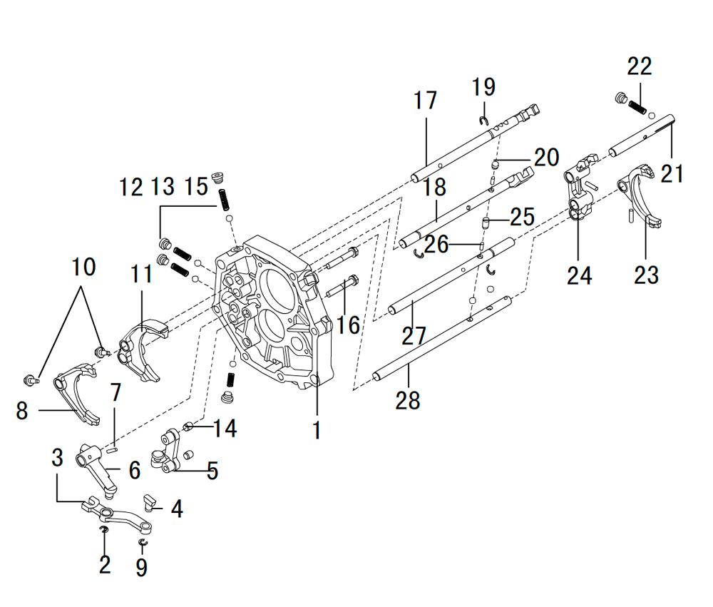 кпп 4х4 HF-BSQ-K81-TC (2)