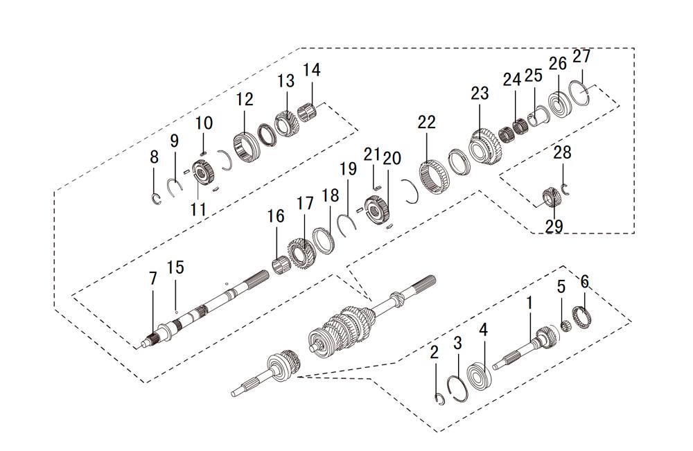 кпп 4х4 HF-BSQ-K81-TC (4)