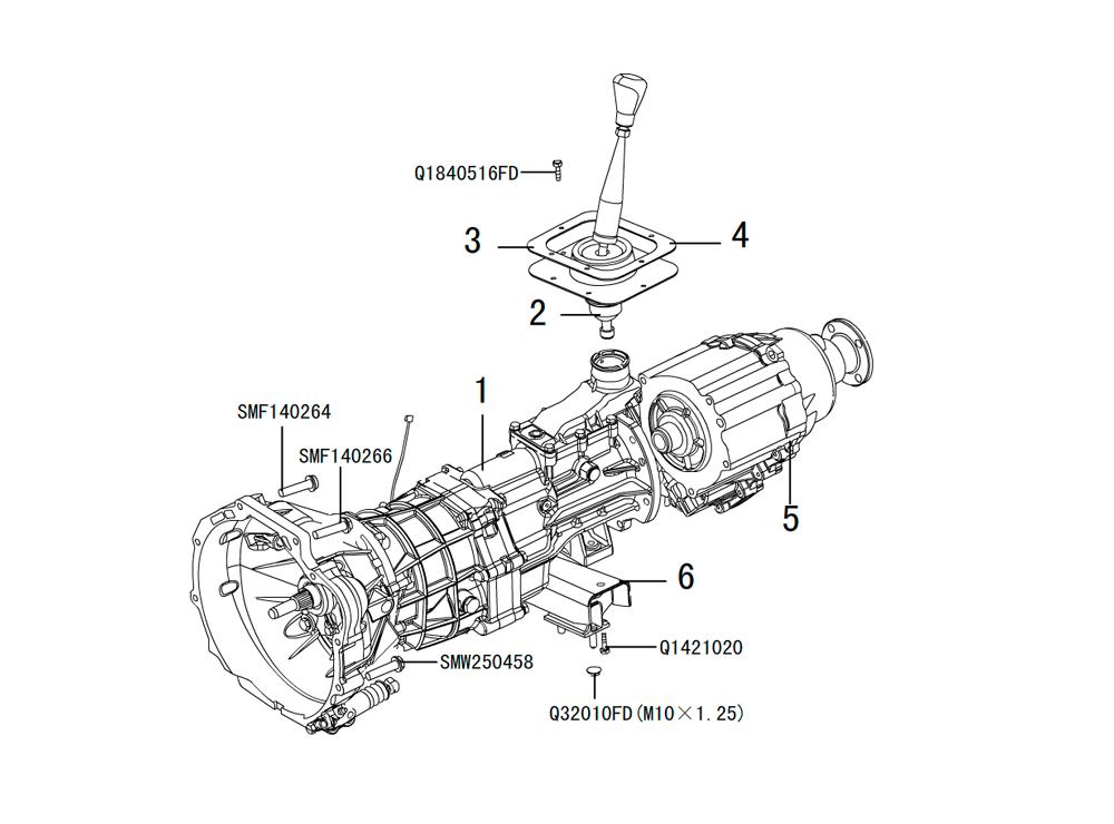 кпп 4х4 HF-BSQ-K81-TC (6)
