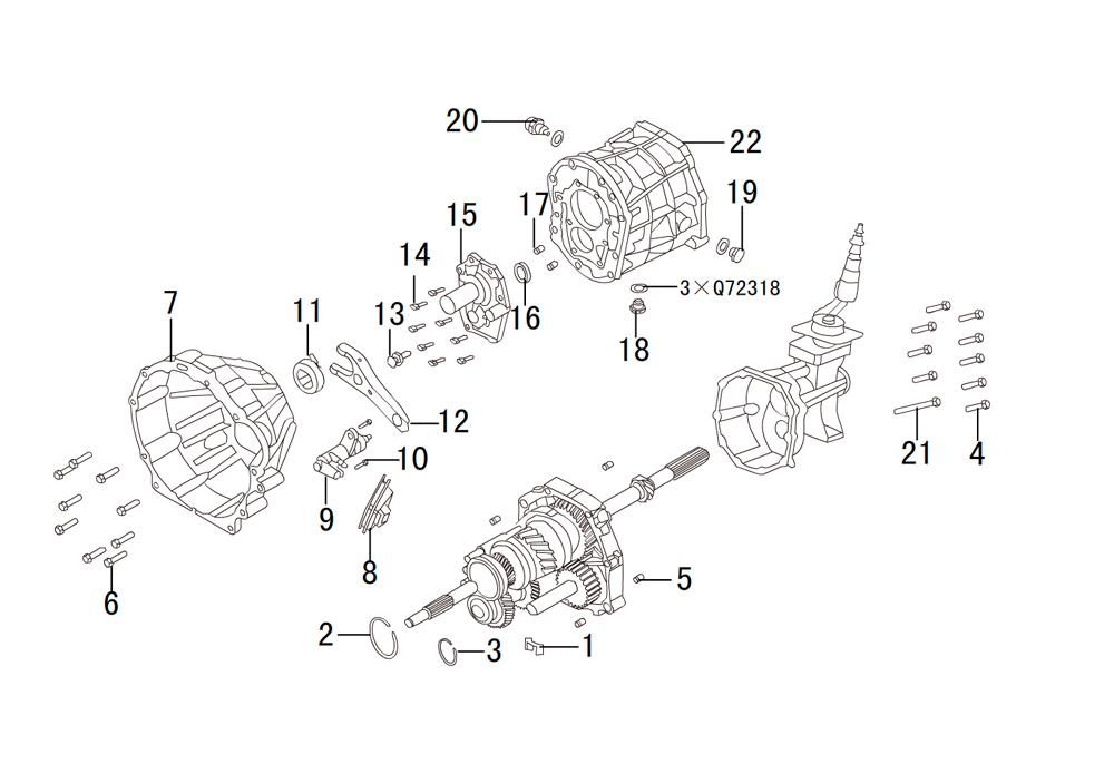 кпп 4х2 HF-BSQ-K84 (1)
