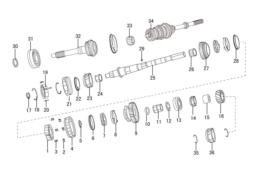 кпп 4х2 HF-BSQ-K84 (4)
