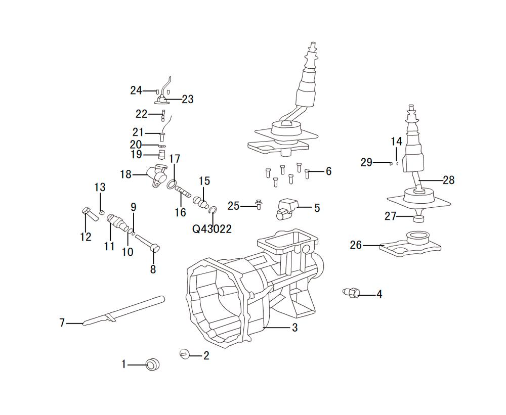 кпп 4х2 HF-BSQ-K84 (5)
