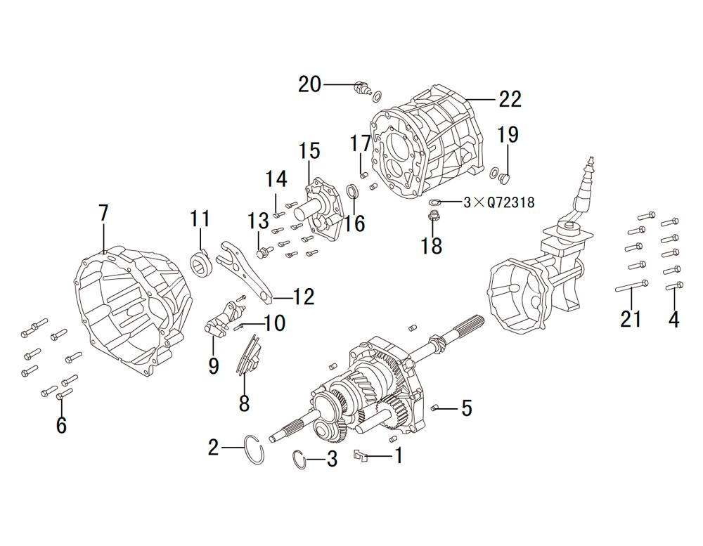 кпп 4х4 HF-BSQ-K84 (1)