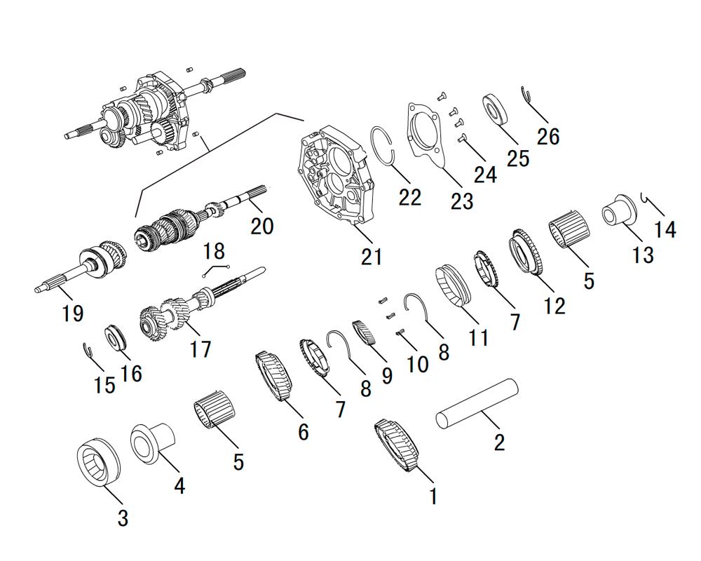 кпп 4х4 HF-BSQ-K84 (3)