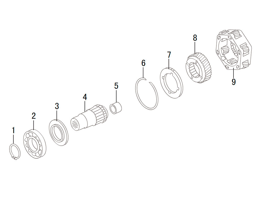 раздатка TRANSFER CASE K85-18-1(1)