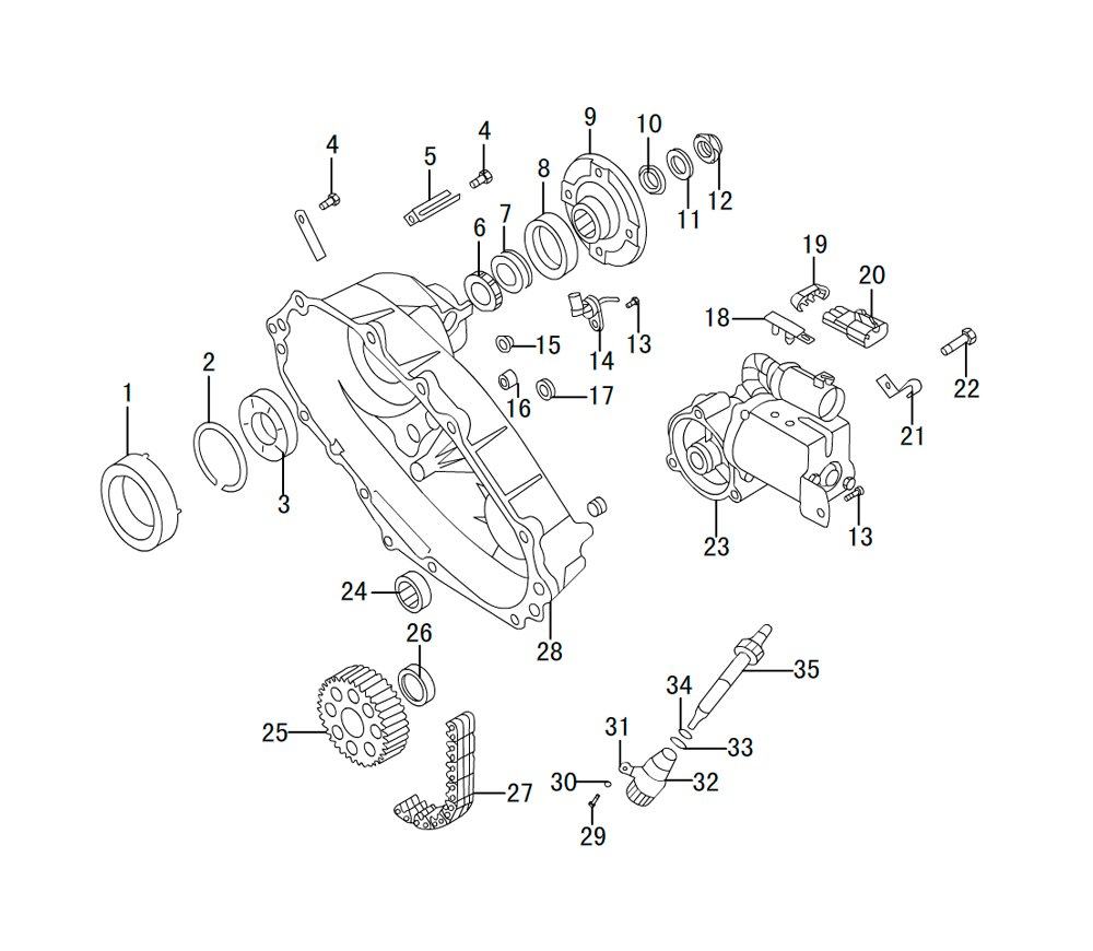 раздатка TRANSFER CASE K85-18-1(4)