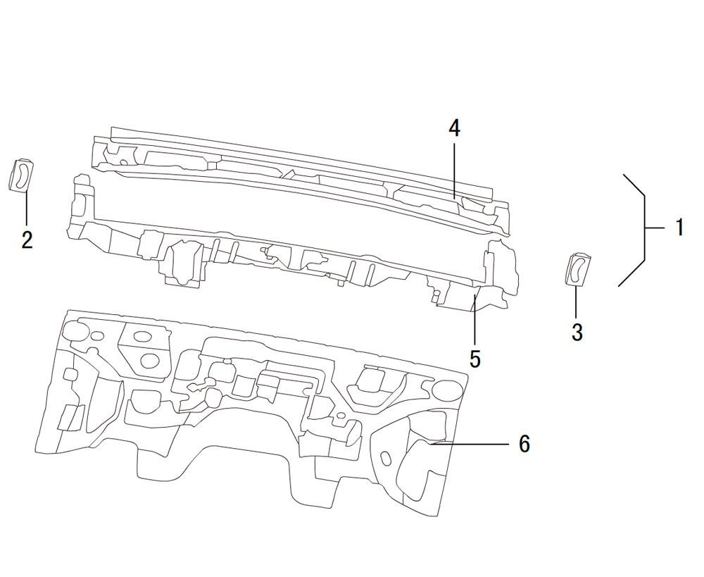 панели моторного отсека