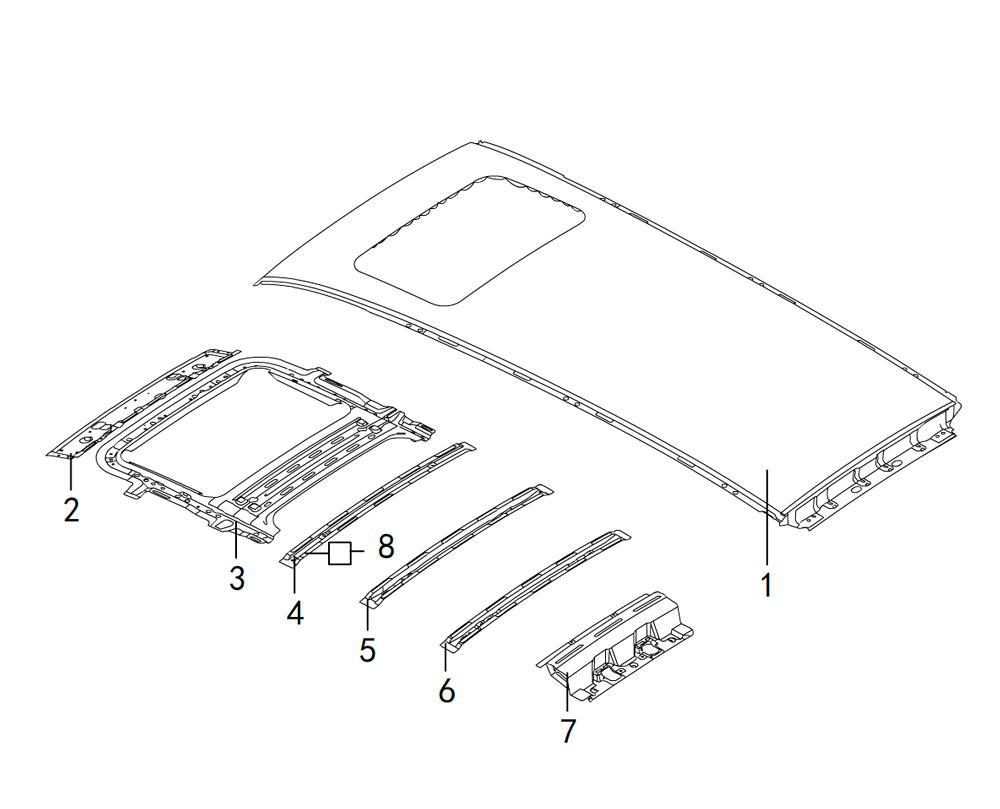 панель крыши 2